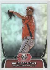 2012 Bowman Platinum Prospects #BPP77 Julio Rodriguez Philadelphia Phillies Card