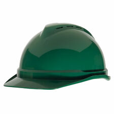 MSA V-Gard 500 Fas-Trac III 4-Point Ratchet Vented Hard Hat