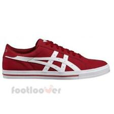 Asics Classic Tempo H6Z2Y 2601 Mens Burgundy White Shoes Casual Sneakers