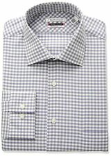 Van Heusen Men's Flex Regular Fit Gingham Spread Collar Dress Shirt