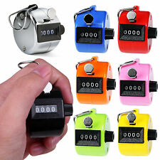 Golf Hand Held Tally 4-Digit Number Clicker Sport Counter Counting Recorder