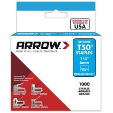 Arrow Fastener Multi-Count .25-.57-in Standard Heavy-Duty HD Wide-Crown Staples