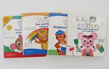 BABY EINSTEIN ~ BOARD BOOK Variety of Titles ~YOU CHOOSE~1+ SHIPPING DISCOUNT