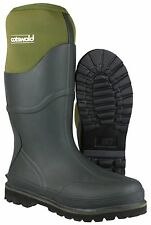 Cotswold Ranger Neoprene Boots Mens Green Waterproof Wellingtons Wellies UK6-14