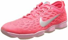 Nike Womens Zoom Fit Agility Low Top Lace Up Running Sneaker, Hyper Punch Ivory