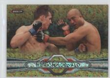 2013 Topps UFC Finest Gold Refractor #93 Rory MacDonald Rookie MMA Card