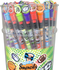 SPORTS Smencils Gourmet Scented Pencils SMENCIL Lasts 2 years!!! Boys & Girls