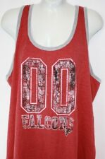 NEW Womens NFL Apparel Atlanta Falcons 00 Red Tank Top Football Shirt