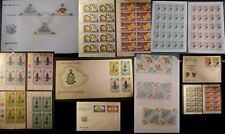 Ascension Stamps FDC Booklets + Blocks 1971 1973 1974 1975 Turtles Wedding UPU