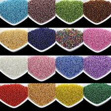 2MM Silver Lined Round Hole Czech Glass Seed Spacer Beads 1000pcs/lot
