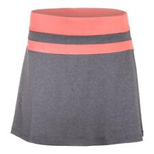 FILA - Women`s Game Day Flirty Tennis Skort Charcoal Heather and Furo Coral - (T