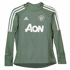 Manchester United Training Warm up Top Green Kids