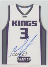 2016-17 Panini Threads #26 Skal Labissiere Sacramento Kings Auto Basketball Card