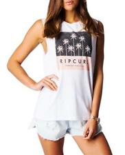 **NEW*** RIP CURL white muscle tank - Ladies 8
