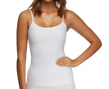 Nearly Nude Women's Thinvisible Cotton Perfectly Smooth Camisole - White