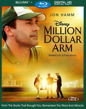 Disney Million Dollar Arm (Blu-ray Disc, 2014)