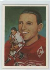 1983-84 Cartophilium Hockey Hall of Fame #2 Sid Abel Detroit Red Wings Card