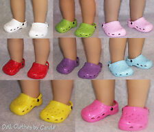 "Assorted Krocs Clogs Sandals fit 18"" American Girl Doll"