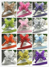 Fashion New 1PCS   Pull Bows Ribbons Flowers Gift Wrapping Pullbows for Wedding