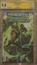 Green Lantern #1 Lupacchino Var CGC 9.8 SS Signed by Emanuella Lupacchino
