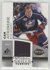 2017 Upper Deck SP Game Used NHL All-Star Skills Fabrics AS-CA Cam Atkinson Card