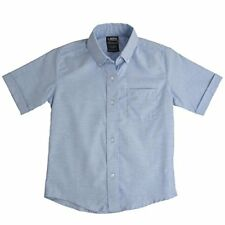 French Toast Boys' Short Sleeve Oxford Dress Shirt - Chse size  color