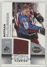 2017 Upper Deck SP Game Used NHL All-Star Skills Fabrics #AS-NM Nathan MacKinnon