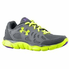 Under Armour Women's UA Micro G Engage Running Shoes, Charcoal/Charcoal