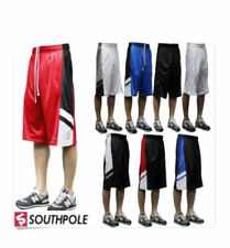 SOUTHPOLE Mens BIG TALL XB Mesh SP ACTIVE Basketball Athletic Workout Shorts