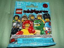 Sealed Lego 8805 Series 5 Your Choice Character Lizard Suit-Gladiator-Graduate!!