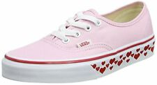 Vans Unisex Authentic (hearts Tape) Skate Shoe, Pink Lady/Red