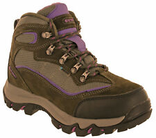 Hi-Tec Womens Walking Boots Waterproof Skamania Leather Hiking Trail Lace UK 4-8