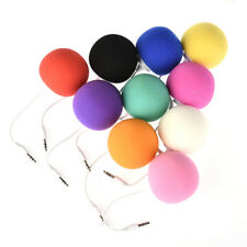Portable 3.5mm Mini Sponge Ball Music Speaker for Cell Phone iPhone iPod MP3 PC