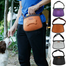 Pet Dog Puppy Treat Pouch Travel Waist Bag for Outdoor Walking&Training 4-Color