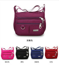 Women Nylon Waterproof Shoulder Purse Messenger Satchel Crossbody Tote Bag