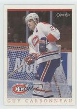 1993-94 O-Pee-Chee Montreal Canadiens Hockey Fest #9 Guy Carbonneau Card