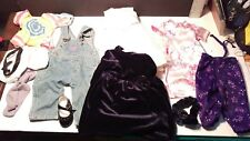 LOT OF ASSORTED DOLL CLOTHES  MY.  TWIN etc