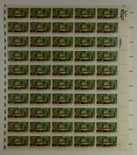 US SCOTT 2037 PANE OF 50 CONSERVATION CORP STAMPS 20 CENT FACE  MNH