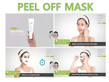 Peel-off Mask 4.1 oz Elasticity Purified Skin Pore Care 120 ml Easy to Mask Pack