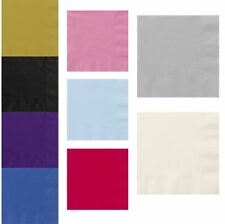 Childs Fancy Lunch Paper Napkins Kids Party Supplies Accessory Pack of 20
