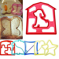 """Mould DIY Kids Sandwich Toast Cookies Cake Bread Biscuit Food Cutter Mold }{""""'"""