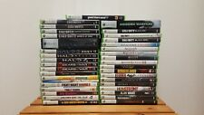 XBOX 360 Games Lot/Bundle Complete W/ Cases & Manuals