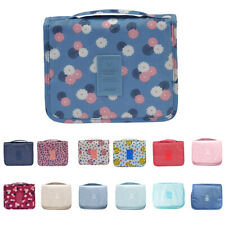 Travel Toiletry Bag Cosmetic Makeup Wash Bag Large Storage with Hanging Hook