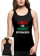 Cinco De Drinko Bitchachos - Cinco De Mayo Racerback Tank Top Gift Idea