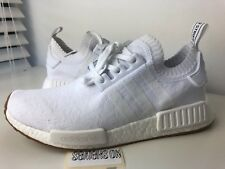 Brand New Adidas NMD R1 PK Primeknit White Gum Sole Size 9.5 10 BY1888 Boost