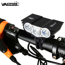 Bicycle Front Rear Light 12000LM Rechargeable Mountain Bike Headlight Waterproof