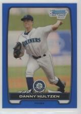2012 Bowman Chrome Prospects Blue Refractor BCP87 Danny Hultzen Seattle Mariners