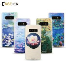 CASEIER® Fitted Monet Water Case Samsung Galaxy S6 S7 Edge S8 S8 Plus Note 8