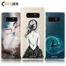 CASEIER® Fitted Case For Samsung Galaxy S6 S7 Edge S8 Plus Note 8 Cases Ballet