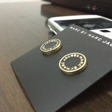 HOT FASHION MARC BY MARC JACOBS 6 COLORS LETTERS DISC STUD EARRINGS